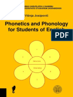 Phonetics and Phonology for Students of English - Visnja Josipovic