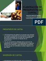 Elaboración de Presupuesto de Capital