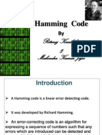 Hamming codes Presentation