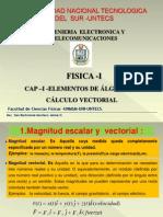 Física-capitulo II Algebra Vectorial i