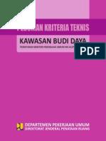 Permen PU No 41 PRT M 2007 Kriteria Teknis Kaw Budidaya.pdf