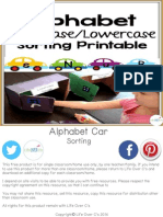 Alphabet Cars Sorting