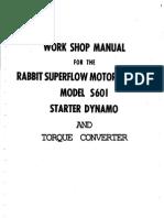 Rabbit 601 Dynamo