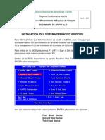 Documento de Apoyo No. 5 Instalacion Del Sistema Operativo Windows