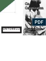 Onorganization Imposed