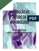 01 - Introdução Ao Estudo Da Microbiologia