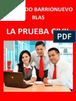 LA PRUEBA CIVIL (Autor. Fernando Barrionuevo Blas)