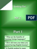 FCE Speaking Part