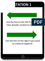 iPad Distribution Posters
