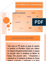 Plan de Fomento Plurilingüismo 2012 2013