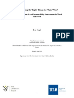 Hugé J., Discourse and Practice of Sustainability