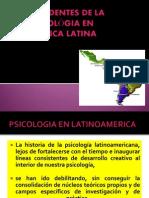 Antecedentes de La Psicológia en Mexico