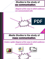 Welcome to GCSE Media Studies Uxbridge