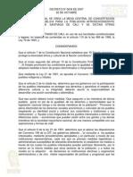 decreto 0634 2007