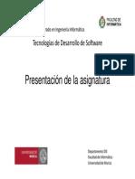 TDS Presentacion 2013