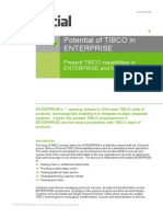 Potential of TIBCO in Enterprise