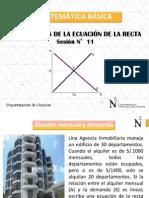 Ppt 11 Mb Hum - Aplicaciones de La Ecuación de La Recta Oferta y Demanda