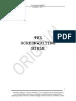 Screenwriting Bible