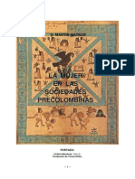 La Mujer en Las Sociedades Precolombinas.