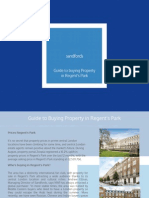 Guide to Buying Property in Regent's Park