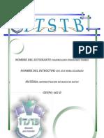 Abministracion BD Unidad II