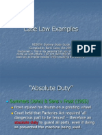 Case Law Slideshow