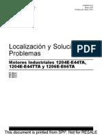 1204E y 1206 E _ Localización y Solución de Problemas _ KSNR9116-01 _ Mayo 2011 _ PERKINS