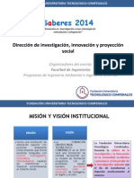 Saberes 2014-Lanzamiento