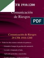 Presentacion de Comunicacion de Riesgo