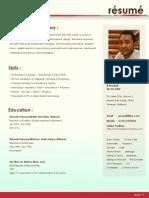 Munadzam Resume 2014 SC