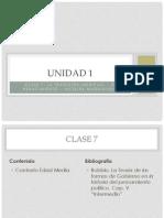 Unidad 1 - Clase 7