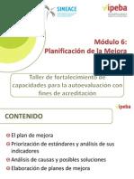 Planificación de La Mejora 6