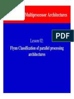 CompArchCh12L02Flynn ClassifcationOfProcessors