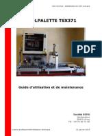 Guide d'utilisation et de maintenance - Ecolpalette