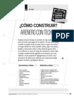 Como Construir Arenero Con Techo