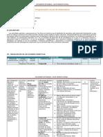 Ejemplo de Programación Anual de Matematica