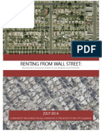 Renting from Wall Street