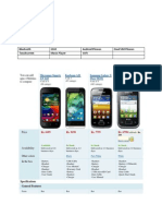 Mobile Phones Research doc