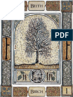 Celtic Tree Oracle Tarot
