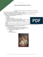 Resumen Periodos Barroco y Rococo