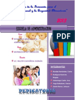 Distribución F. de Snedecor Administracion