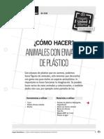 Como Hacer Animales Con Envases de Plastico