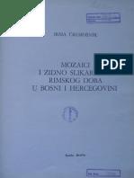 Irma Čremošnik, Mozaici i Zidno Slikarstvo Rimskog Doba u Bosni i Hercegovini, Veselin Masleša, Sarajevo 1984. (1)