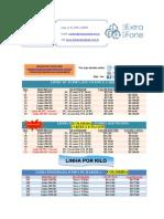 Tabela de Preços Com Fotos