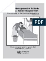 Clinical Management VHF Pocket Book