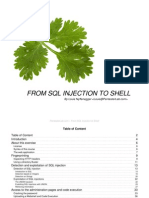 From Sqli to Shell