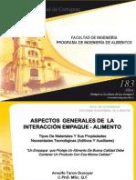 Interaccion Empaque Alimento - Arnulfo Taron Dunoyer PDF