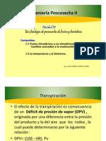 Unidad II 2-5 Frutos Climatericos y No Climatericos- Cambios Asociados a La Maduracion