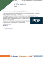 Dicionário Escolar Afro-Brasileiro - Revista de História