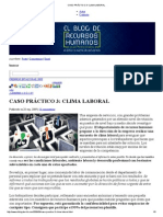 Caso Práctico 3_ Clima Laboral